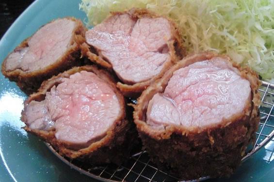 黒豚とんかつフィレ肉